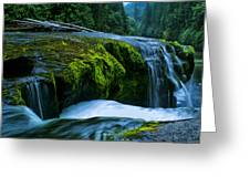 Lower Lewis Falls 1 Greeting Card