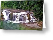 Lower Lewis Falls Greeting Card
