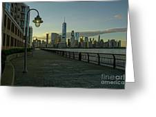 Lower Manhattan Greeting Card