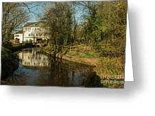 Lower Mill Of Cullompton  Greeting Card