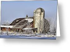 Lower Newton Rd. Barn Greeting Card