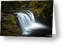 Lower Punchbowl Falls 1 Greeting Card