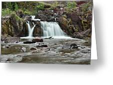 Lower Red Rocks Falls Greeting Card by Jemmy Archer