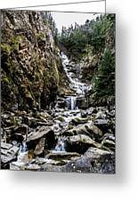 Lower Reid Falls Greeting Card