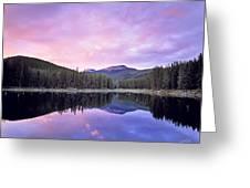 Lower Seymor Lake Greeting Card