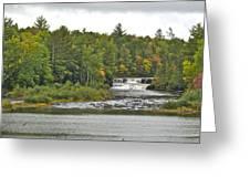 Lower Tahquamenon Falls 4 Greeting Card