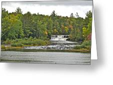 Lower Tahquamenon Falls 4 Greeting Card
