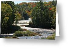 Lower Tahquamenon Falls  4349 Greeting Card
