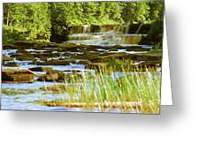 Lower Tahquamenon Falls 6128 Greeting Card
