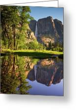 Lower Yosemite Morning Greeting Card