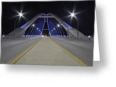 Lowery Street Bridge Greeting Card