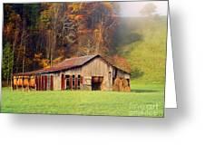 Lowes Barn Greeting Card by Annlynn Ward