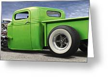 Lowrider At Painted Desert Greeting Card