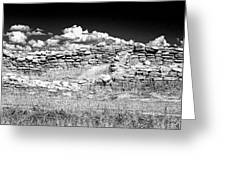 Lowry Pueblo Ruin Black And White Greeting Card