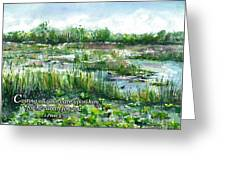 Loxahatchee Marsh 1 Peter 5 Greeting Card