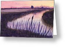 Loxahatchee Sunset Greeting Card