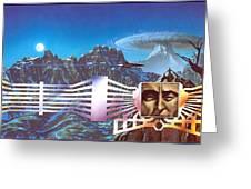 lrsMHD031HarrisonMark MasksoftheMasters Mark Harrison Greeting Card