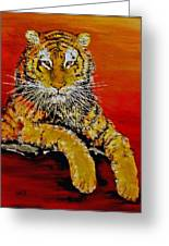 Lsu Tiger Greeting Card