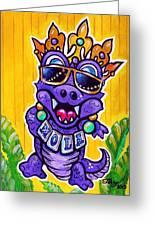 Lt Aka Nola Gator Greeting Card by Terry J Marks Sr