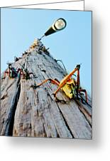Lubber's Pole Greeting Card