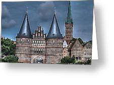 Lubek Germany Greeting Card