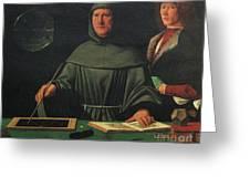 Luca Pacioli, Franciscan Friar Greeting Card
