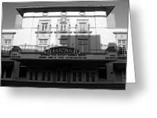 Lucas Movie House 1921 Greeting Card