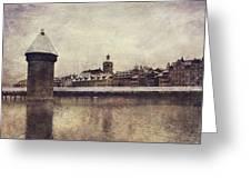 Lucerna, Kapellbrucke Greeting Card