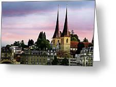 Lucerne 8 Greeting Card