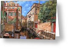 Luci A Venezia Greeting Card