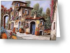 Luci All'entrata Greeting Card