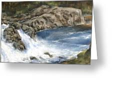 Lucia Falls Summer Greeting Card