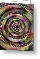 Lucid Hypnosis Abstract Wall Art Greeting Card