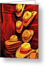 Luckenbach Hats Hdr Greeting Card