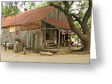 Luckenbach Store Greeting Card