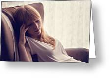 Lucy Rose Greeting Card