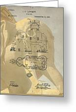 Lucy The Elephant Building Patent Greeting Card