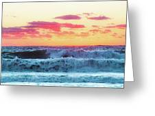 Lucy Vincent Surf Greeting Card