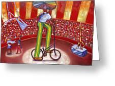 Ludi-circo Greeting Card