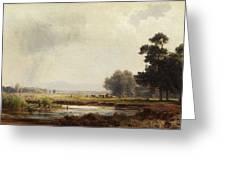 Ludwig Deutsch, Landscape Greeting Card