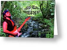 Lukas By The Creek 2 Greeting Card