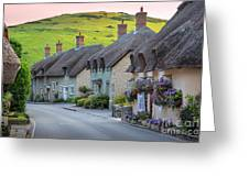 Lulworth Cottages Greeting Card
