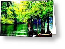Lumber River II Greeting Card