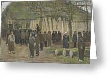 Lumber Sale Nuenen  January 1884 Vincent Van Gogh  1853  1890 Greeting Card
