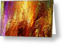 Luminous - Abstract Art Greeting Card