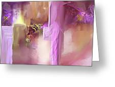Luminous Dimensionality Greeting Card