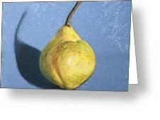 Lumpy Pear Greeting Card