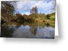 Lumsdale Pool Greeting Card