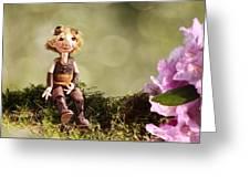 Lumuel In Spring Greeting Card