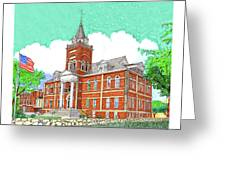 Luna County Court House  Deming  N M   Greeting Card